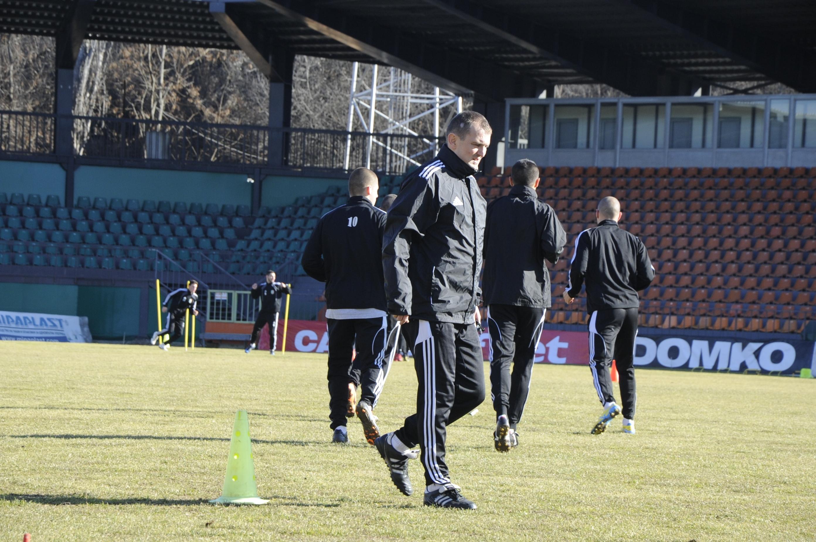 Загорчич доволен от лагера, награди отбора с 2 дни почивка